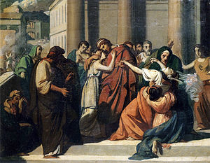 Jocasta complex - Oedipus Separating from Jocasta by Alexandre Cabanel.
