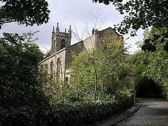 Cadder - Image: Cadder parish church in 2005