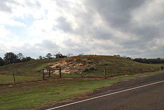 Cherokee County, Texas - Caddo Mounds at the Caddo Mounds State Historic Site in Cherokee County