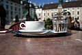 Café Hofburg Wien 2008 Melange 2.jpg
