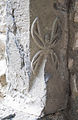 Cahir Priory of St. Mary Tower Stairways Jamb Relief 2012 09 05.jpg
