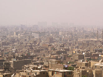 Polycyclic aromatic hydrocarbon - Smog in Cairo, Egypt. Particulate air pollution, including smog, is a substantial avenue for human exposure to PAHs.