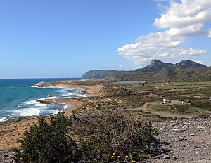 Cartagena, Spain - Natural Park of Calblanque.