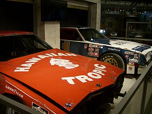 1979 Daytona 500 - The cars of Cale Yarborough and Donnie Allison from the 1979 Daytona 500 in the NASCAR Hall of Fame.