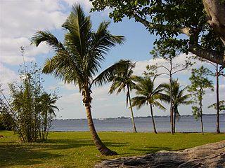 Caloosahatchee River River on the southwest coast of Florida, US