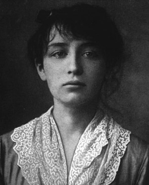 Camille Claudel - Camille Claudel in 1884 (aged 19)