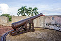 Cannon at Fort Marlborough, Bengkulu 2015-04-19 01.jpg