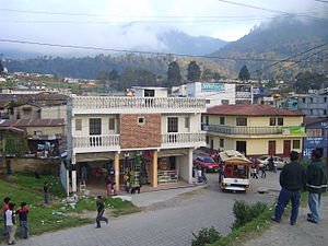 Cantel, Guatemala - Cantel from the Quetzaltenango - Retalhueu highway