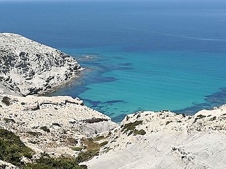 Ras ben Sakka - Image: Cap Blanc, Bizerte