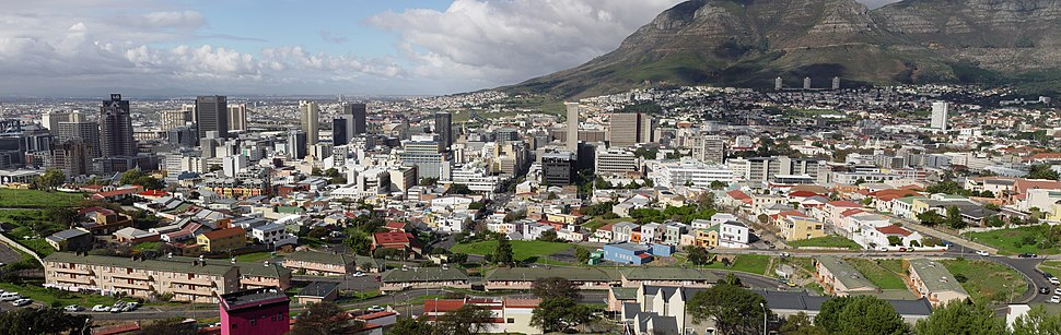 Panorama of the Cape Town city centre