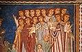 Cappella di san silvestro, affreschi del 1246, storie di costantino 01 malato conforta le vergini 3.jpg