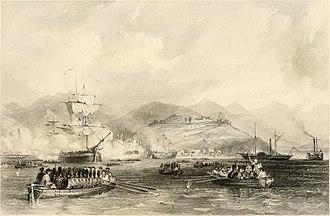 Capture of Chusan - Capture of Tinghai, the capital of the Chusan islands