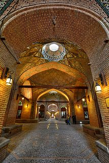 Qazvin City in Iran