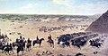 Carga de los granaderos en la batalla de Chorillos.jpg