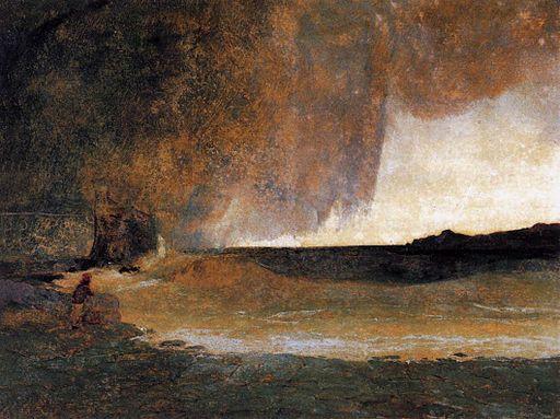 Carl Blechen - The Bay of Rapallo - WGA2244