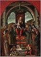 Carpaccio - Madonna con il bambino in trono e sei santi. Museo Antoniano, Padova.jpg