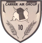 Carrier Air Wing 10 (U.S. Navy) insignia, 1965.png