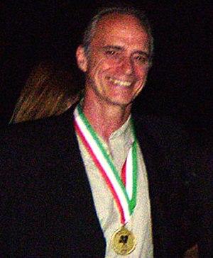 Carson Grant - Carson Grant accepting GIAA Italian American Heritage Award 2007