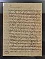 Carta d'Alexandre VI al seu fill Joan de Borja amonestant-lo per les moltes despeses, arxiu de la catedral de València.JPG