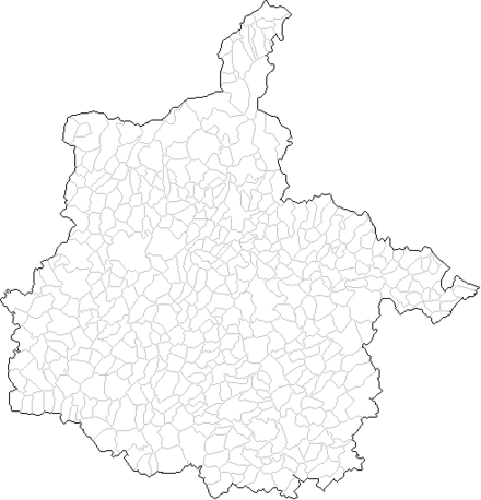 Map of the communes of the Ardennes department. Carte des communes des Ardennes.png