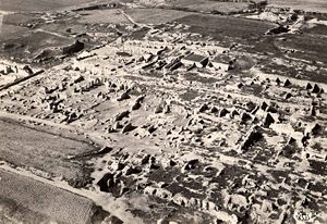 Battle of Carthage (c. 149 BC) - Roman villas built on the site of Carthage