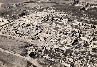 Battle of Carthage (c. 149 BC) - Roman villas built on the site of Carthage