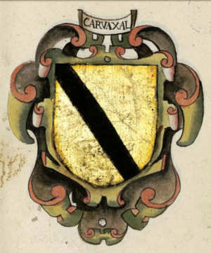Gonzalo Carbajal - Image: Carvajal surname