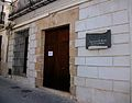 Casa dels Andrés, seu universitària de Benissa.JPG