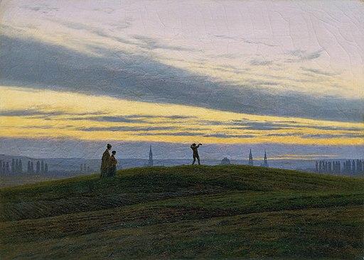 Caspar David Friedrich - Der Abendstern (ca.1830)