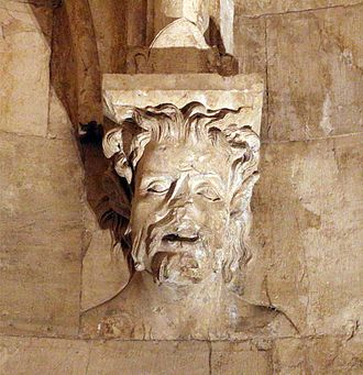 Castel del Monte, Apulia - Capital with faun head