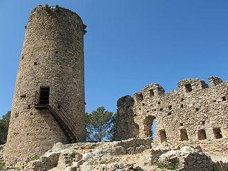 Boadella i les Escaules - Escaules castle