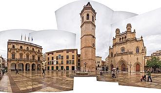 Castellón de la Plana - Plaça Major.
