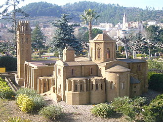 Roman Catholic Diocese of Lleida - A model of the old cathedral of Lleida