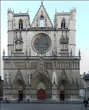 Lyon Cathedral - Image: Cathédrale Saint Jean