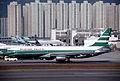 Cathay Pacific Lockheed L-1011 TriStar 1; VR-HHW@HKG, November 1991 BFS (4993246303).jpg