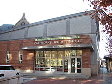 Cathedral High School, Gymnasium, Boston MA