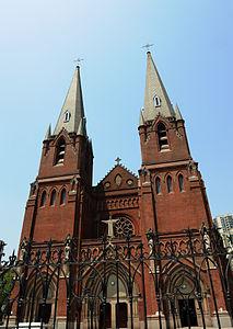 Cathedral in Xujiahui