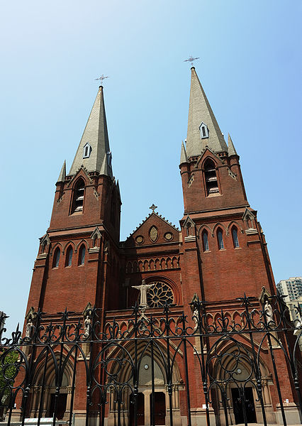 File:Cathedral in Xujiahui.jpg