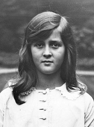 Princess Cecilie of Greece and Denmark - Cecilie as a young girl, 1922