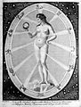 Celestial influx on . . woman; illustration Wellcome L0016673.jpg