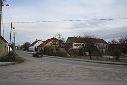 Center of Lesonice, Třebíč District.jpg