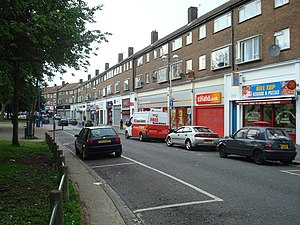 New Addington - Image: Central Parade, New Addington geograph.org.uk 1320684