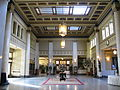 Central hall of LIUNA Station, Hamilton, ON.jpg