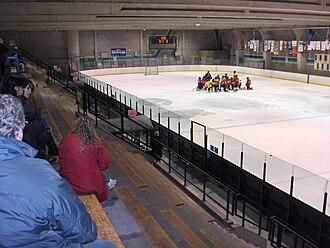 Centre Étienne Desmarteau - Image: Centre etienne desmarteau second Ice rink