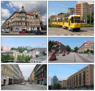 Municipal neighbourhood in Szczecin, West Pomeranian, Poland