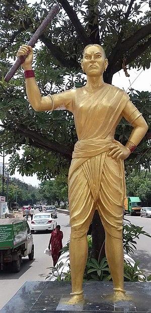 Chityala Ailamma - Chakali illama Statue