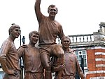 Statue of the 1966 World Cup winning England side