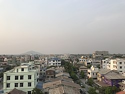 Skyline of Chanayethazan Township