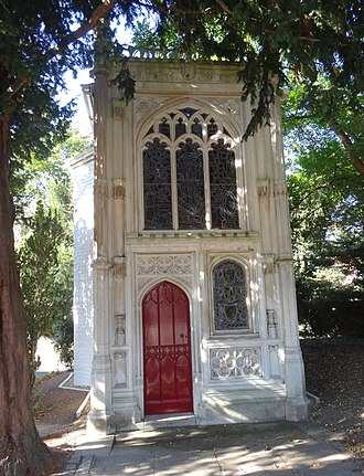 Chapel in the Wood, Strawberry Hill - Front of the chapel