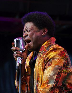 Charles Bradley (singer) - Bradley performing at Traumzeit-Festival in Duisburg in 2013.